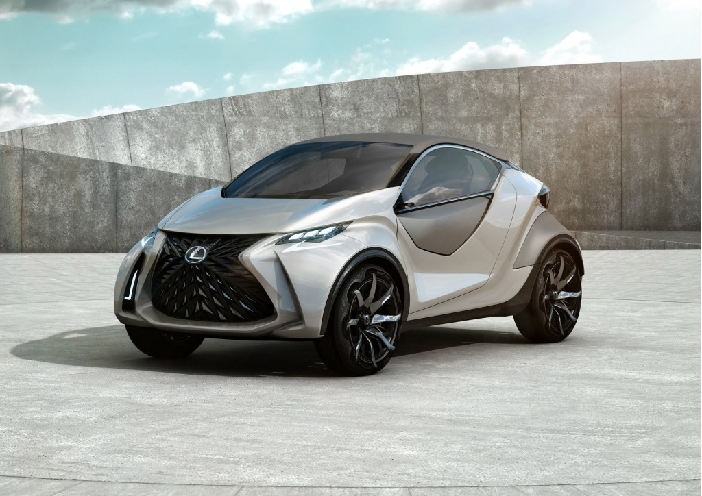 Lexus teases design of upcoming city-sized electric car