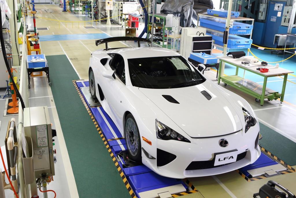 Lexus LFA build #500