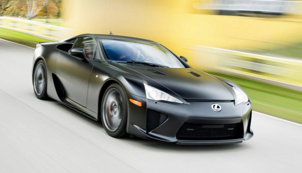 2011–12 Lexus LFA- Hagerty Media