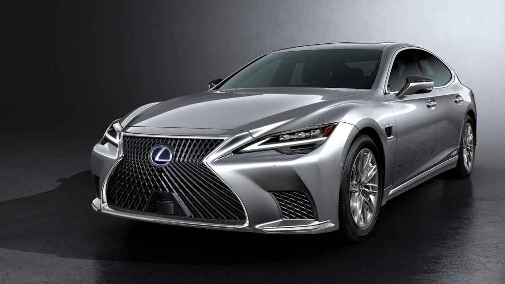 Lexus cuts price on refreshed 2021 LS F Sport sedan