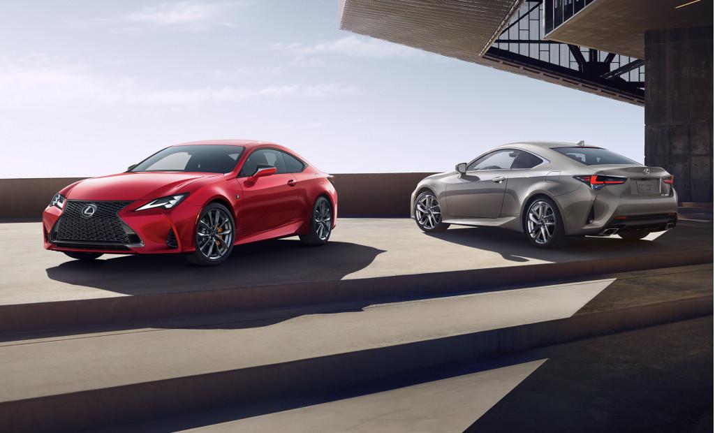 2019 Lexus RC debuts in Paris with sharper look