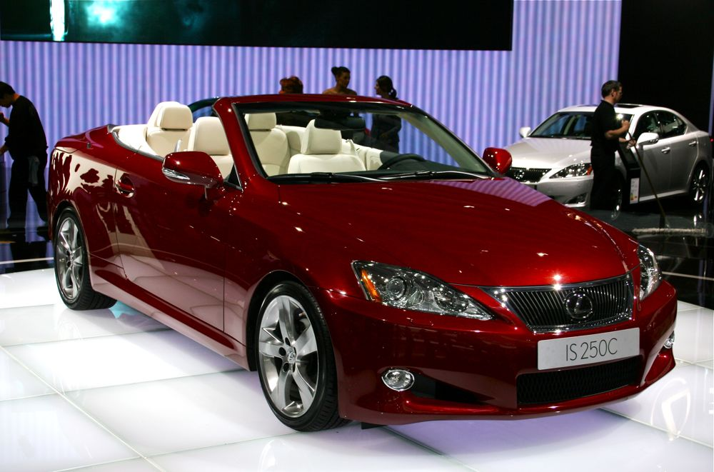 2010 Lexus Is Convertible Giving The Sc The Folding Boot