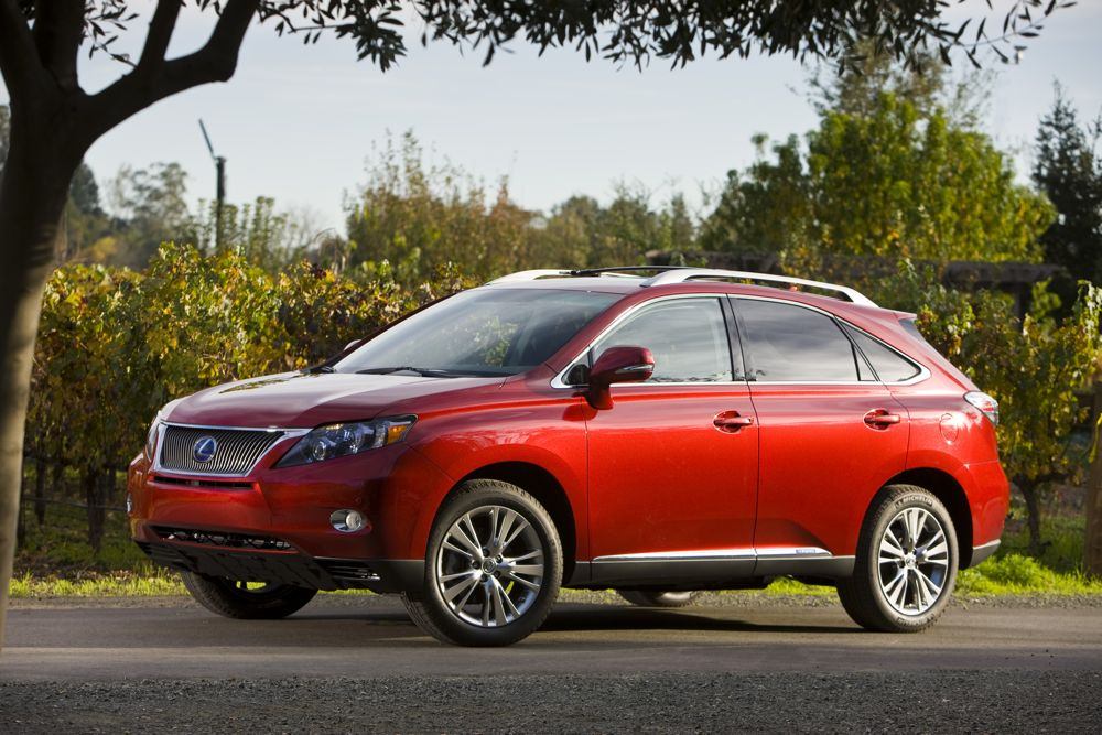2010 Lexus Rx 450h Review Ratings Specs Prices And Photos The Car Connection
