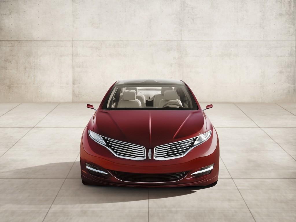 Lincoln MKZ Concept, 2012 Detroit Auto Show