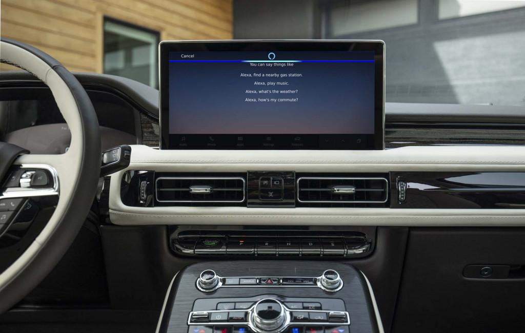 Lincoln Nautilus_Alexa Built-In via Lincoln Enhance