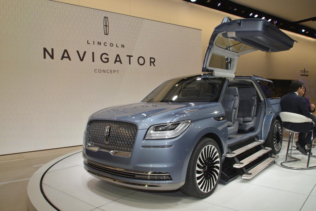 Lincoln Navigator Concept Previews More Luxurious Future For Big Suv