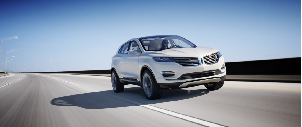 Lincoln MKC Concept: 2013 Detroit Auto Show