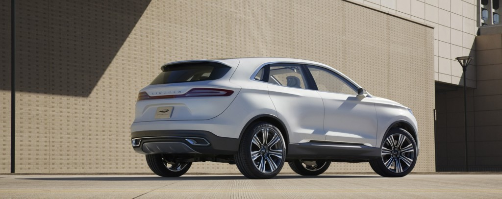 Lincoln Mkc Compact Crossover Concept Debuts In Detroit Video