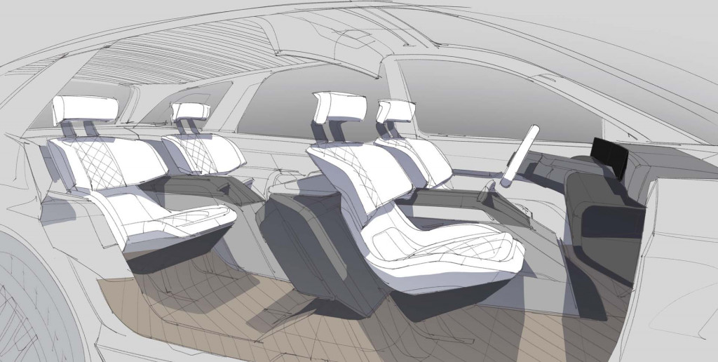 Lincoln Sketch_Interior Space