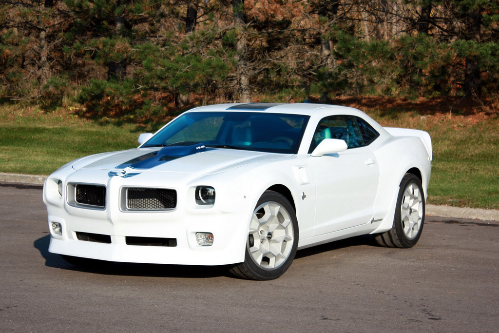 Lingenfelter Reveals New Camaro Based Pontiac Trans Am Concept
