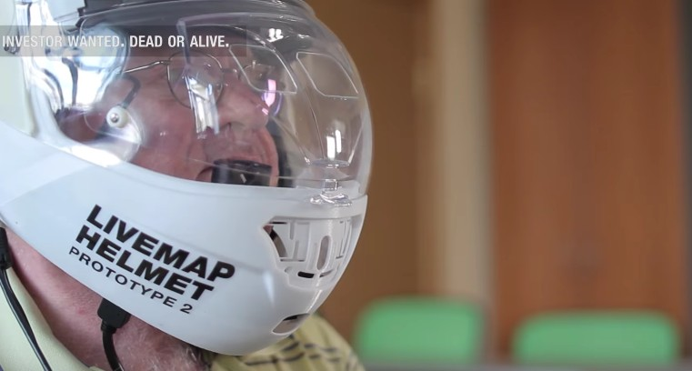 Is An Augmented Reality Motorcycle Helmet Still Forthcoming
