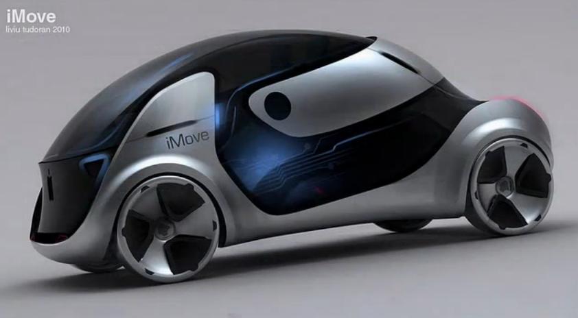 """Liviu Tudoran's """"Apple iMove"""" design study"""