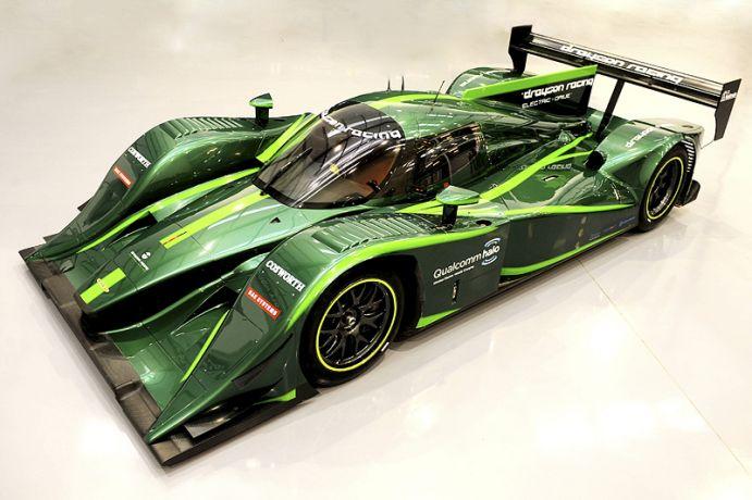 Lola Drayson Electric Race Car Previews Structural Batteries