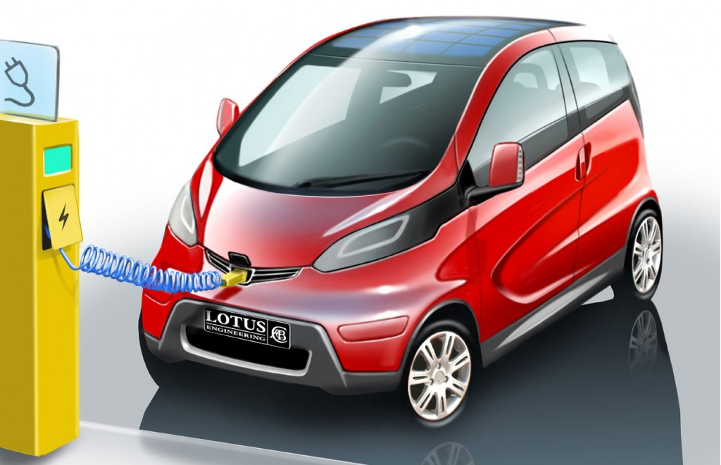 Lotus EV minicar concept