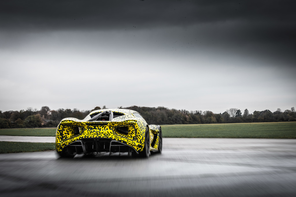 Lotus Evija test prototype