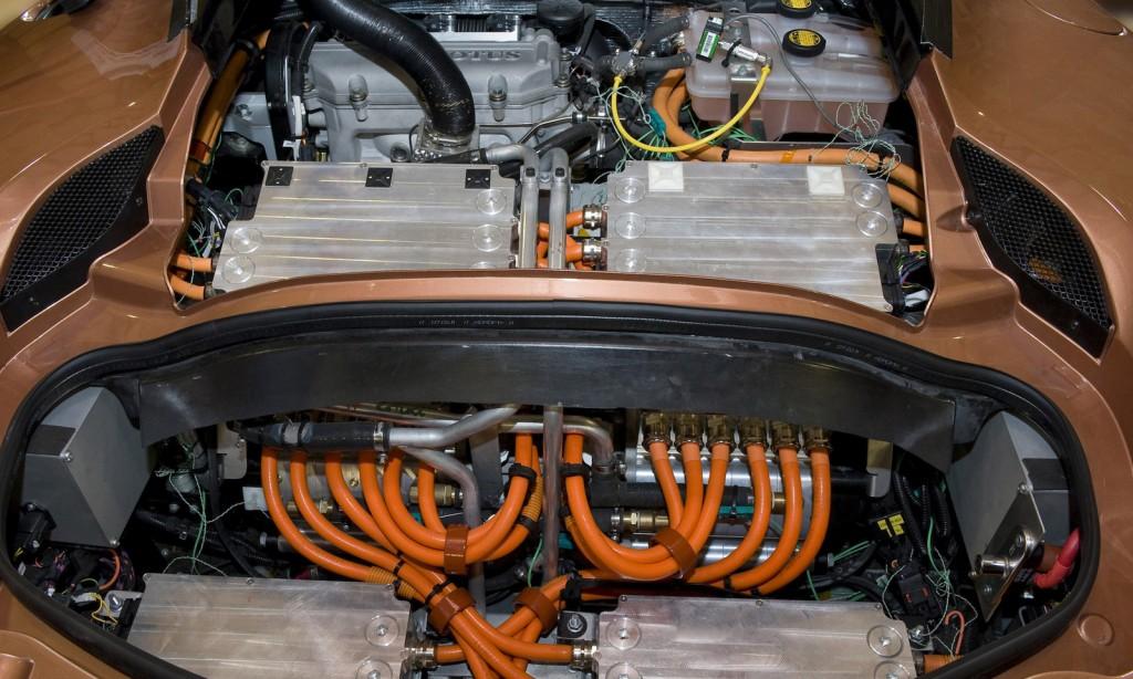 Lotus Evora 414E extended-range electric car prototype