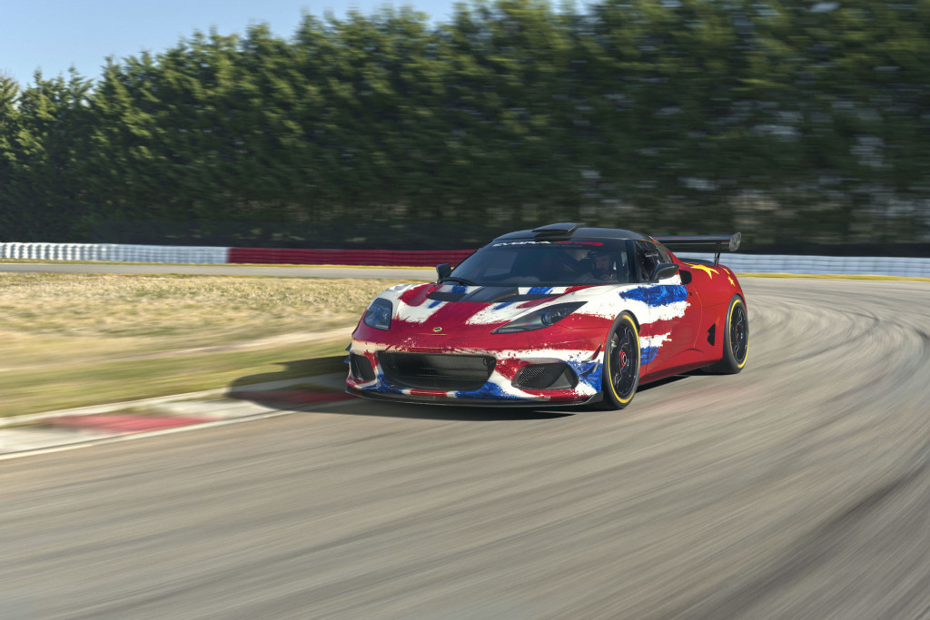 Lotus Evora GT4 concept is ready to rock a racetrack