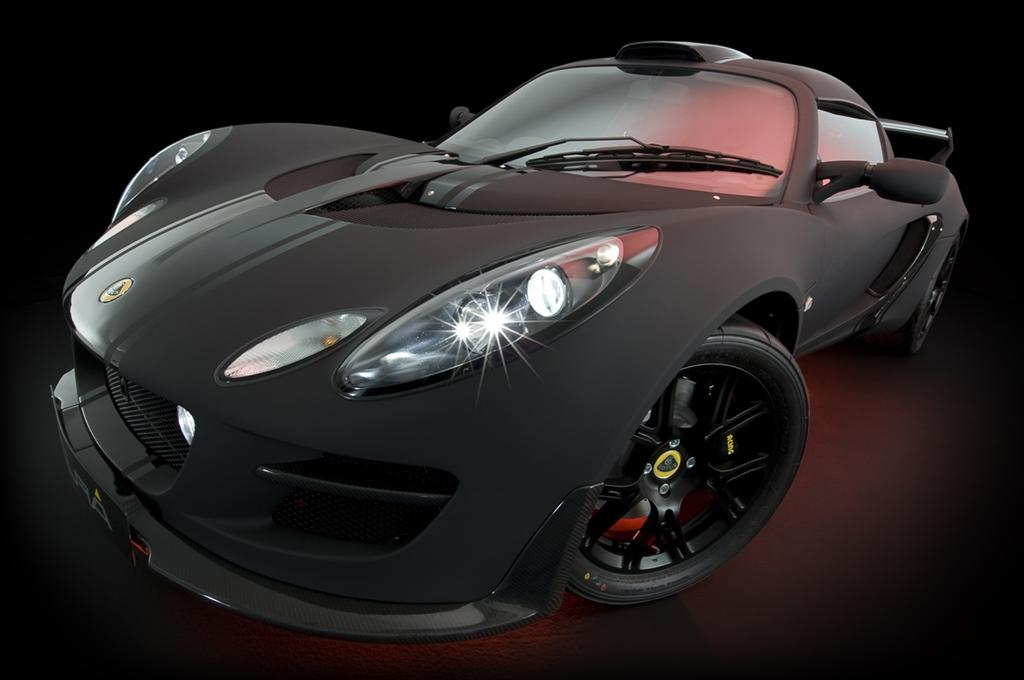 Black Is The New Red Lotus Exige Scura Special Edition Set To Show