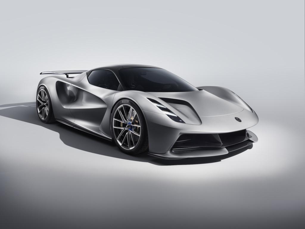 Lotus Evija electric hypercar