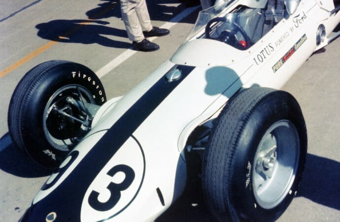 Indy museum returning Dan Gurney's Lotus to its original colors