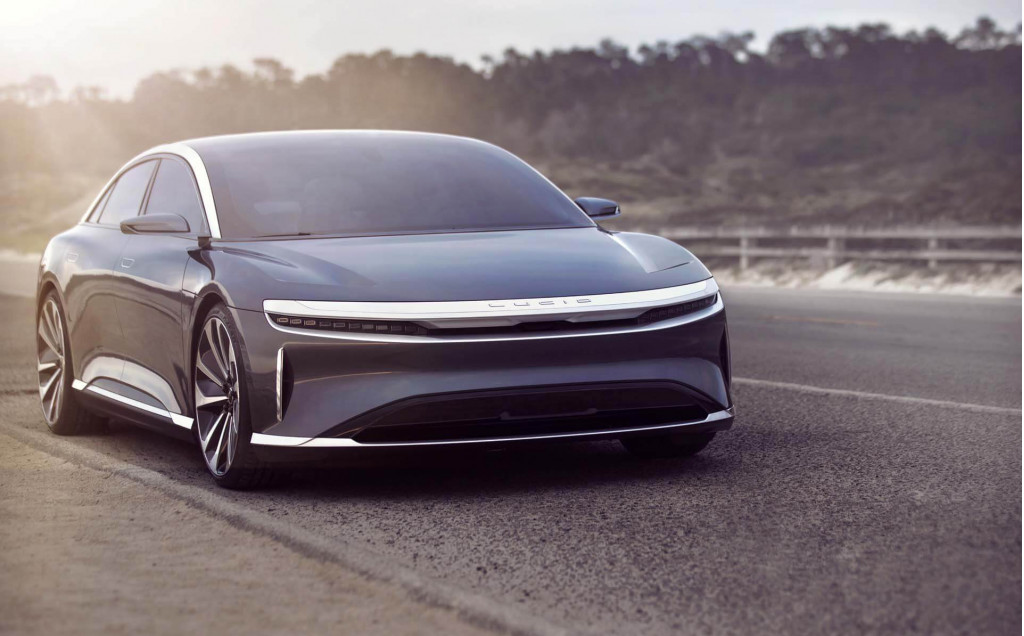 Lucid to show production version of Air electric sedan in April
