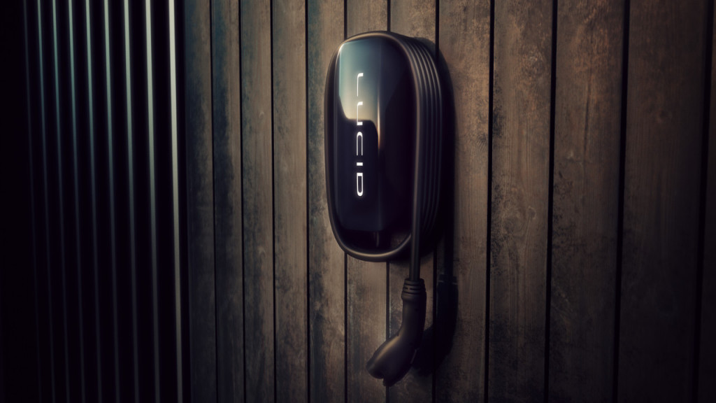 Lucid Connected Home Charging Station