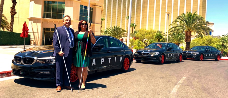 Lyft, Aptiv will supply rides to blind or visually impaired people