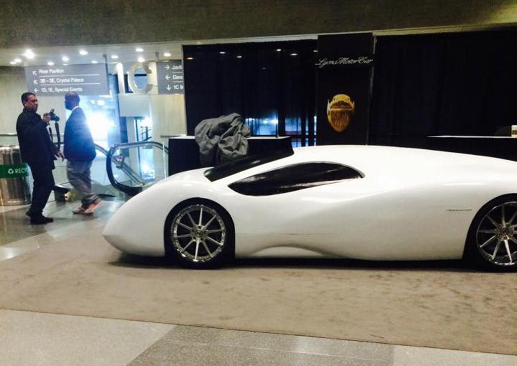 Lyons Motor Car Brings LM2 Streamliner 'Concept' To New York