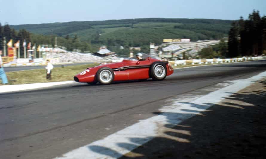 Maria Teresa de Filippis competing at Belgian Grand Prix in 1958 | Photo from Rex/Shutterstock