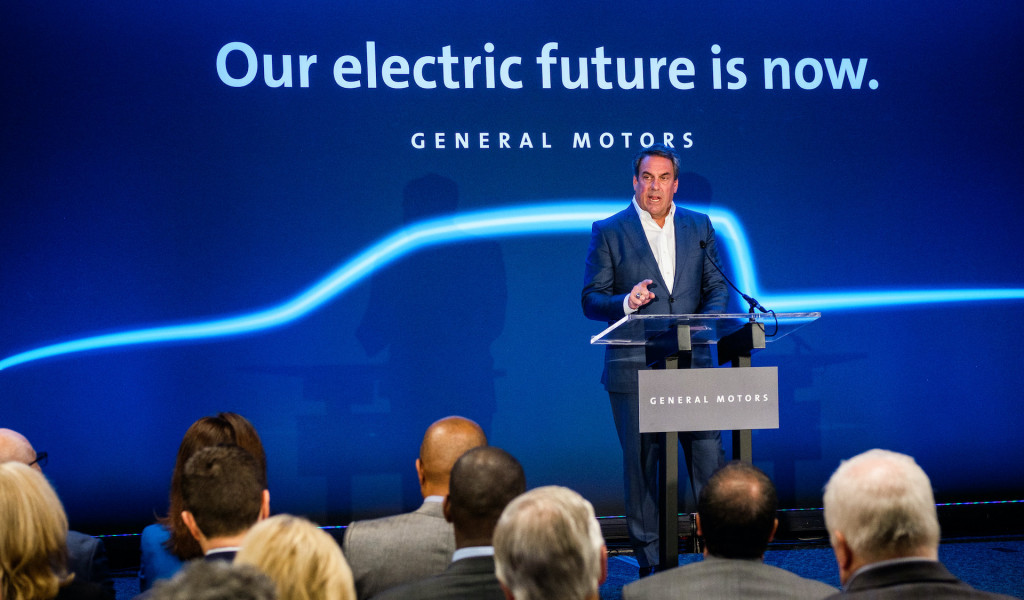 Mark Reuss, GM president, announces Detroit-Hamtramck plant to build electric vehilcles