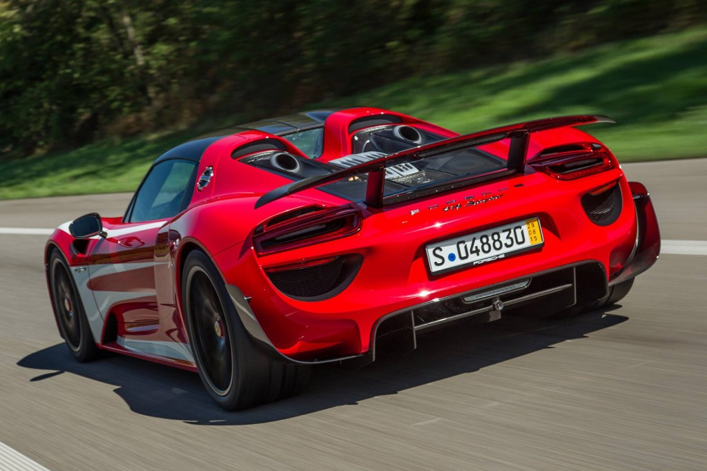 porsche 918 spyder white and red. new and used porsche 918 spyder prices photos reviews specs the car connection white red