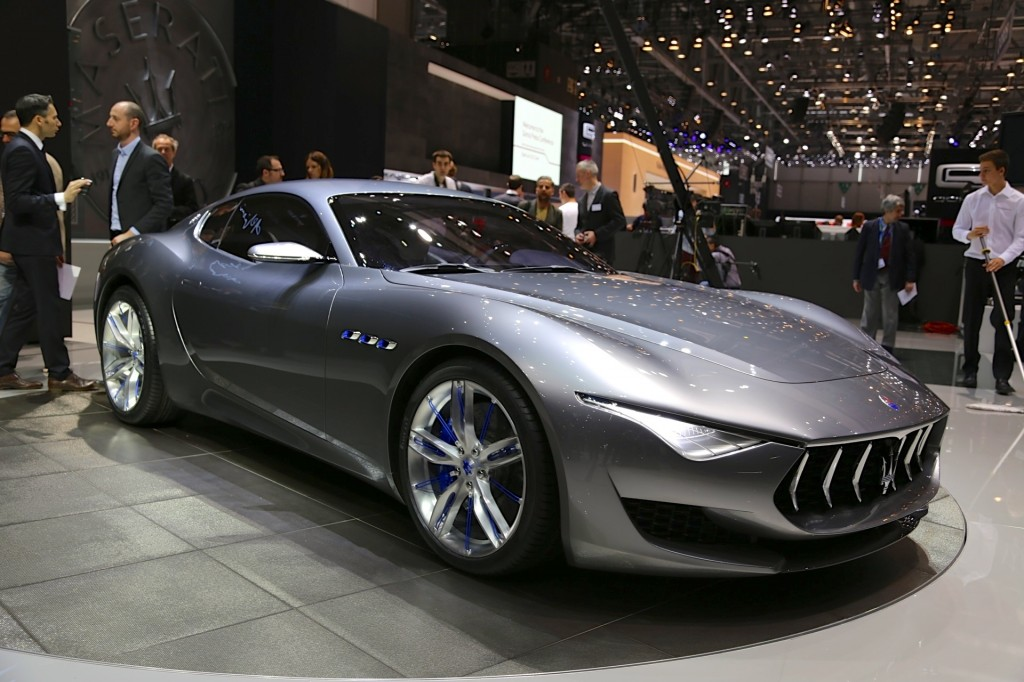 Delightful ... New Sports Car. Maserati Alfieri Concept