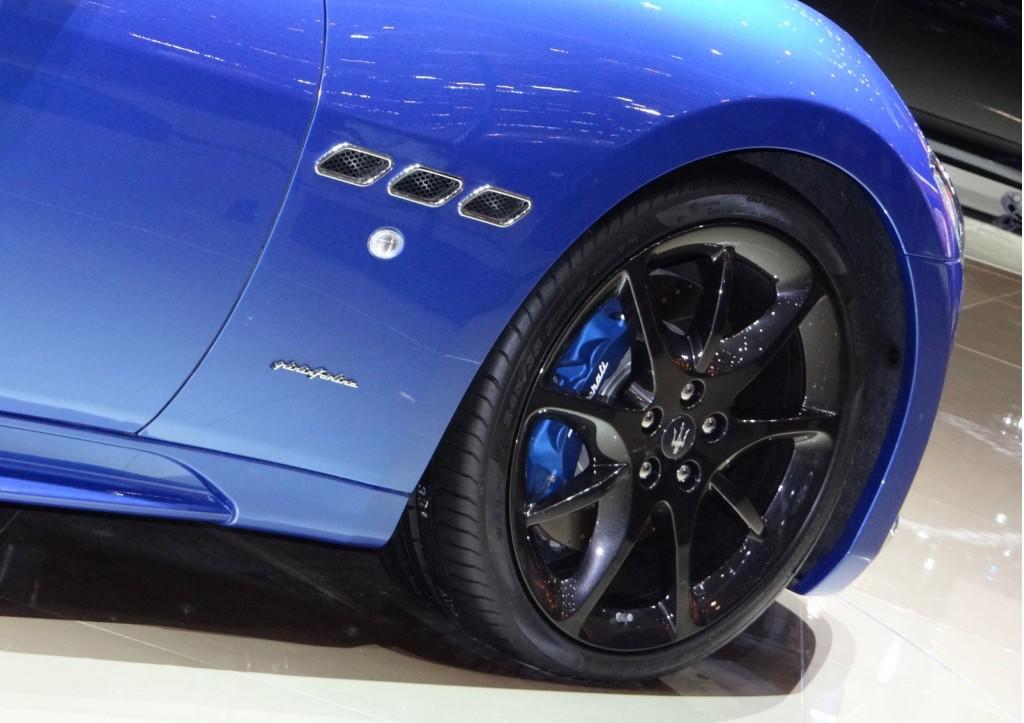 Maserati GranTurismo Sport live photos
