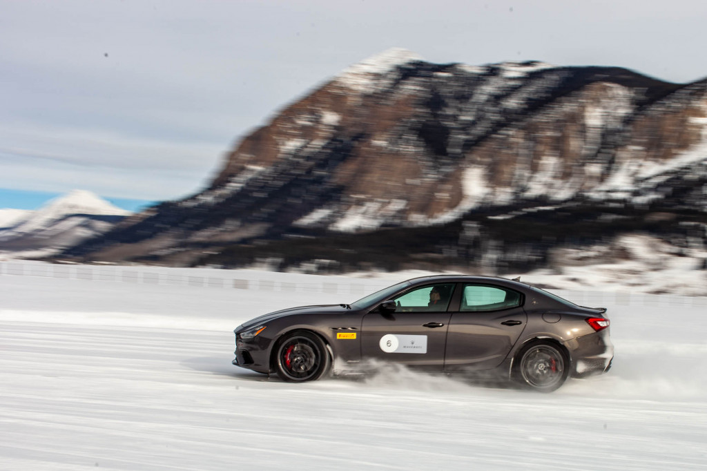 Want to be a faster driver? Learn how on ice