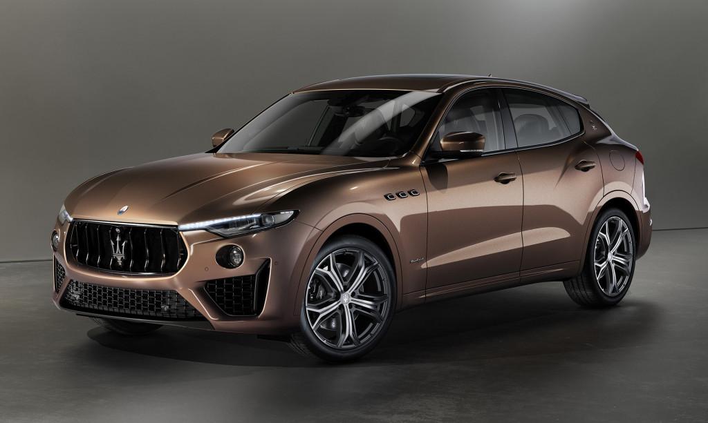 Maserati unveils Levante and Quattroporte with woven leather trim