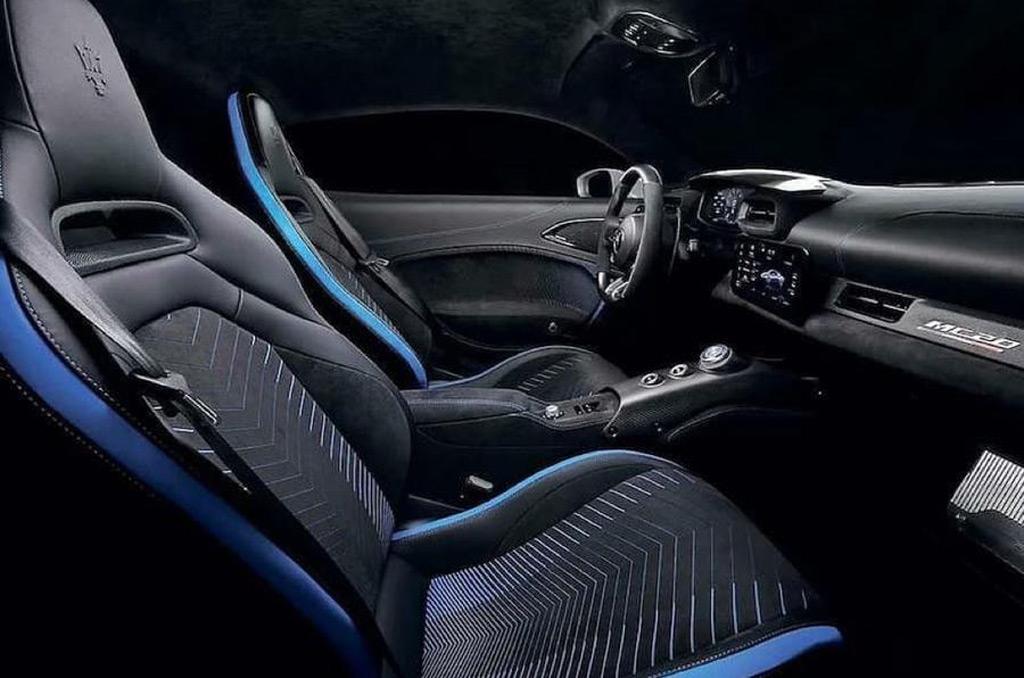 Maserati MC12 leaked