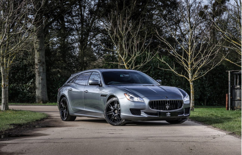 A Maserati Quattroporte Shooting Brake exists and is for sale