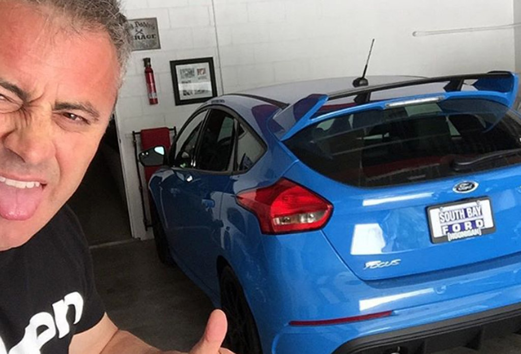 Top Gear Host Matt Leblanc Buys Ford Focus Rs