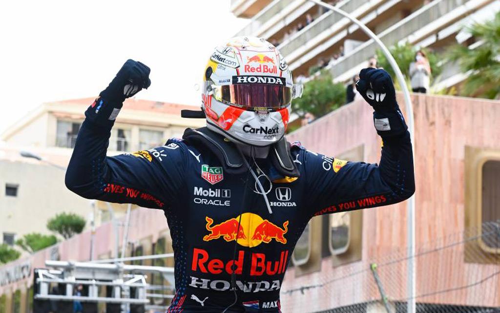 Max Verstappen at the 2021 Formula One Monaco Grand Prix