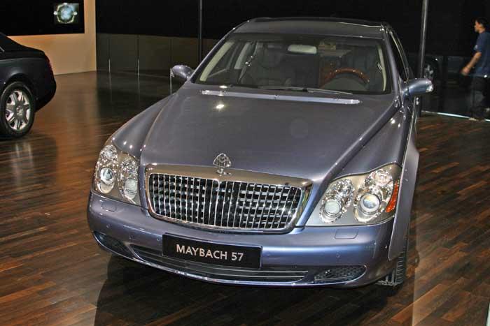 Maybach M57, 2004 Beijing Motor show