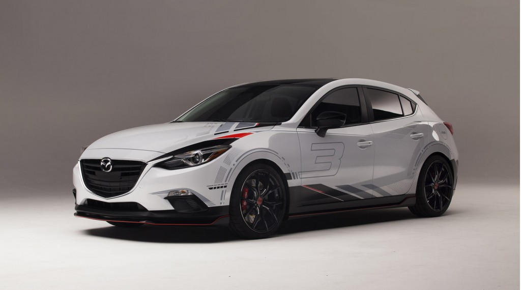 Mazda Club Sport 3 concept, 2013 SEMA Show