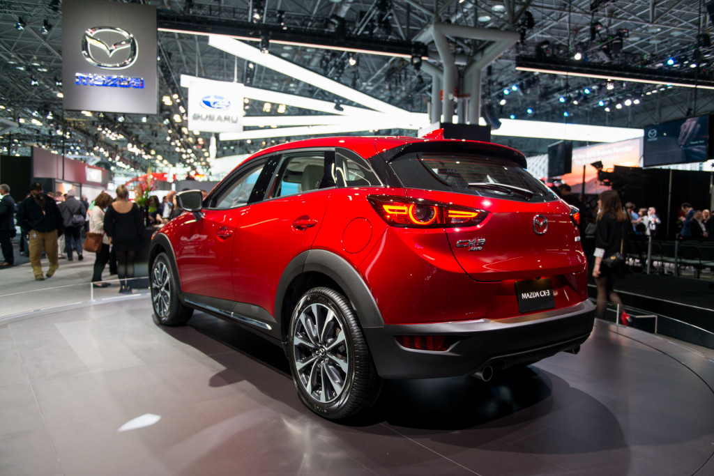2019 Mazda CX-3 brings a more refined interior