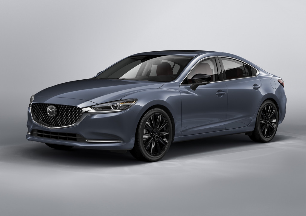 2021 Mazda 6 sedan adds standard Apple CarPlay, bumps price to $25,270