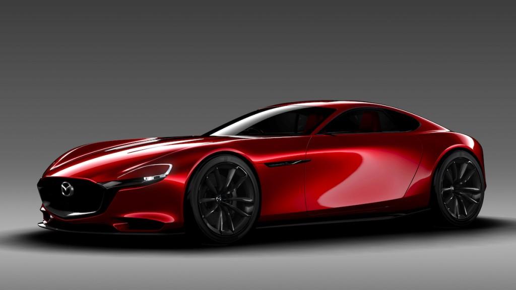 Mazda RX-Vision concept, 2015 Tokyo Motor Show