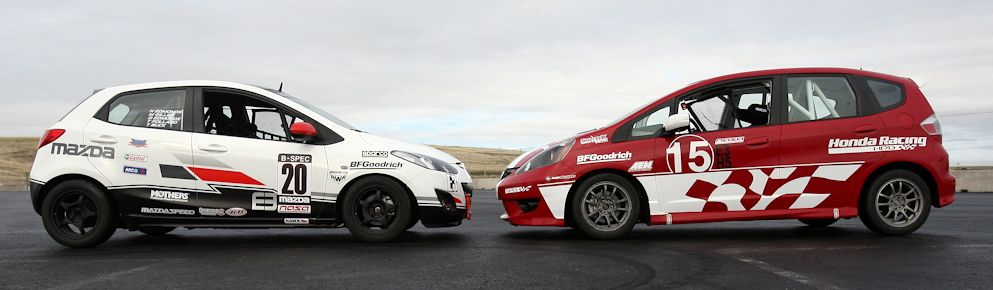 Honda Mazda Join Forces For Affordable BSpec Race Series - Mazda racing series