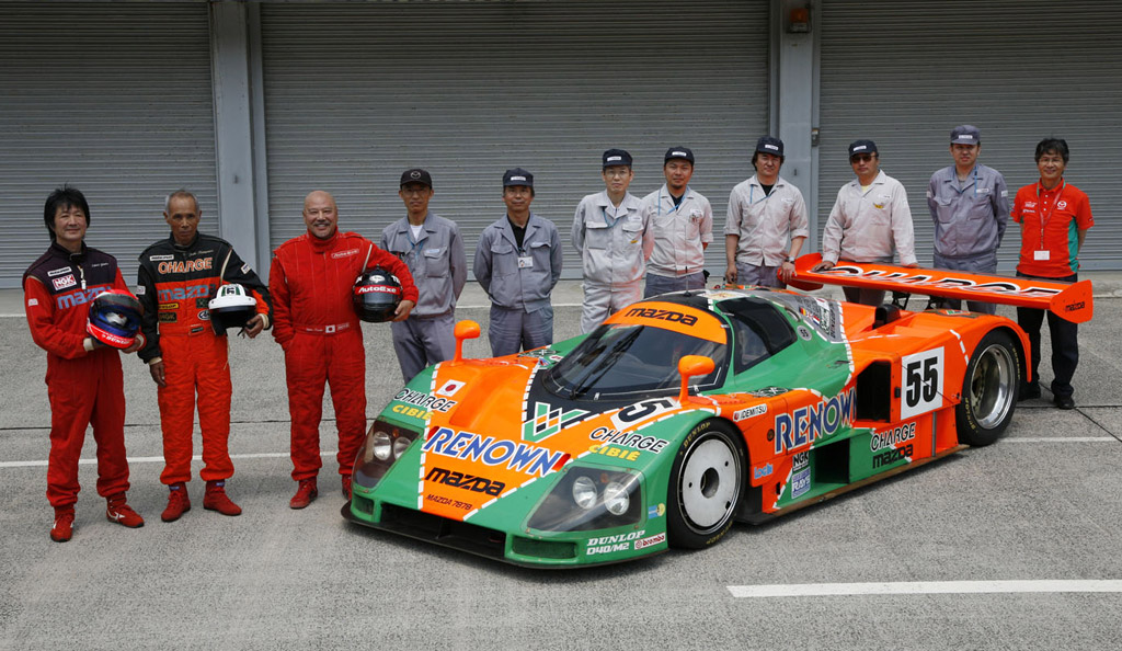 Image: 1991 Mazda 787B four-rotor race car, size: 1024 x 594, type ...