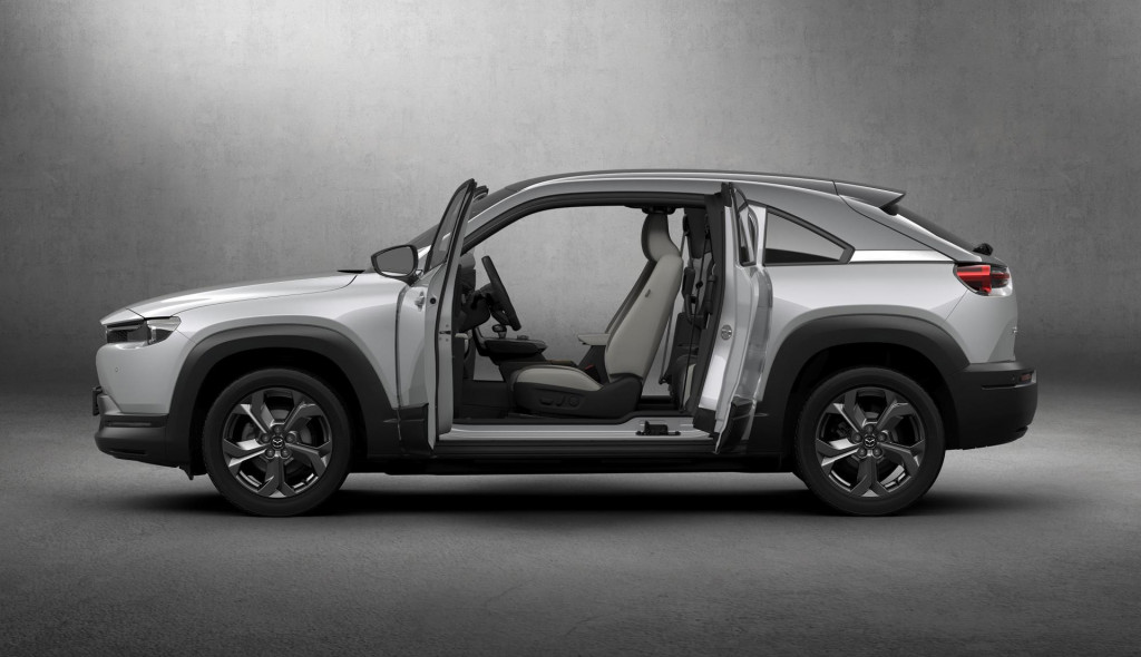 Mazda MX-30 small crossover coming as EV and PHEV