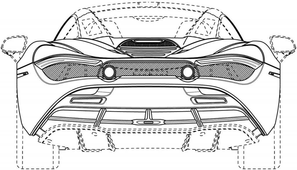 McLaren 720S Spider shows off in patent drawings