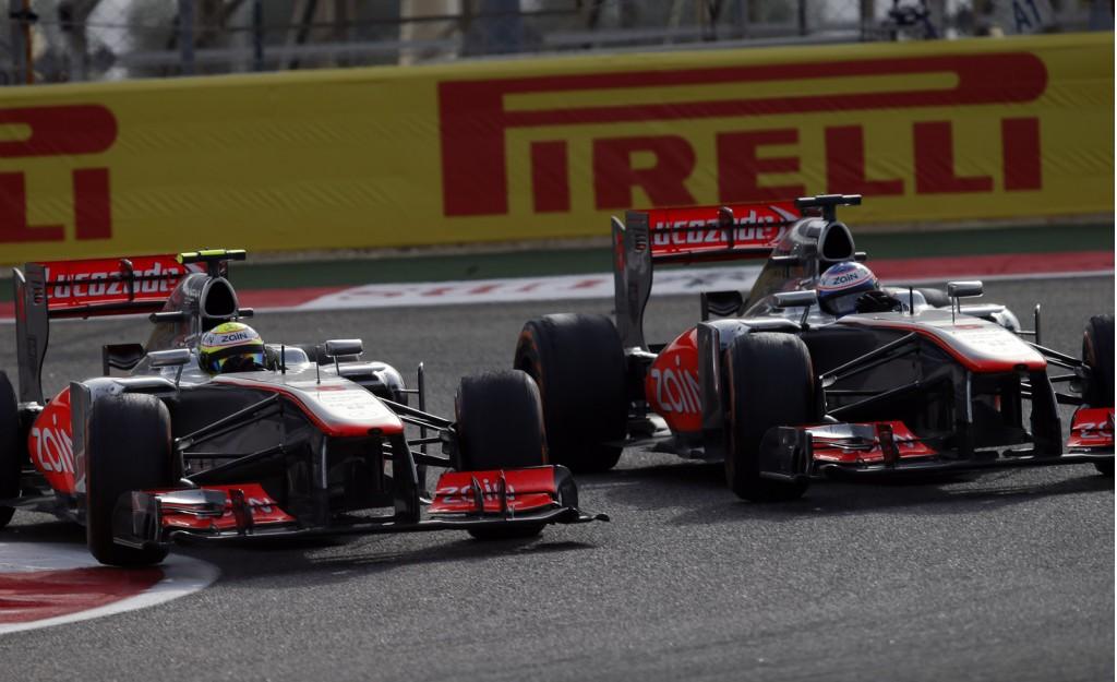 McLaren at the 2013 Formula One Spanish Grand Prix