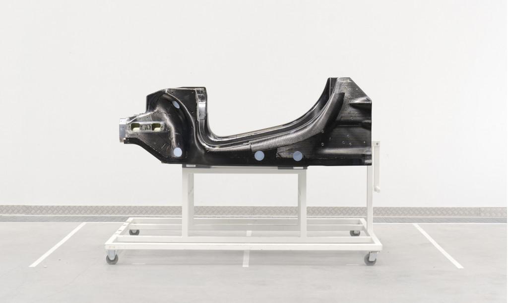 McLaren carbon-fiber tub